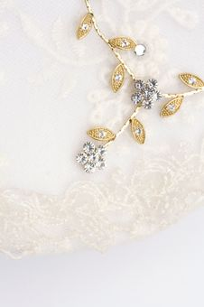 Free Close Up Of Textile Wedding Background Stock Photography - 5287662