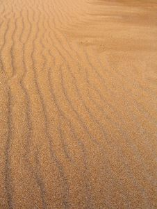Free Sand Waves Stock Image - 5288321