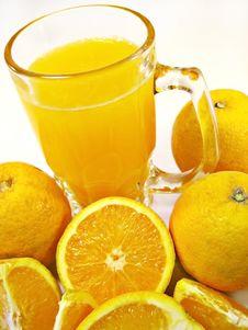 Free Orange Juice Royalty Free Stock Photos - 5289118