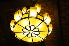 Free The Flower Shape Lamp Stock Photography - 5289172