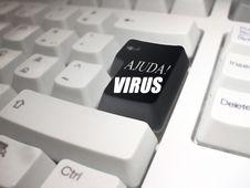 Free Ajuda ! Virus! Royalty Free Stock Image - 5289316