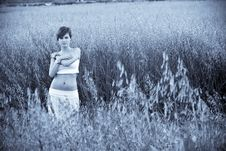 Free Woman In Field Royalty Free Stock Photography - 5289347