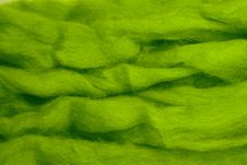 Green Wool Royalty Free Stock Photo