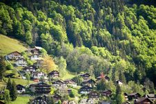 Village, Mount Titlis, Switzerland Royalty Free Stock Photo