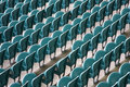Free Empty Seating At Sports Stadium Stock Photography - 5291792