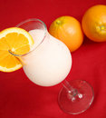 Free Pina Colada On Red Cloth Royalty Free Stock Photo - 5294355