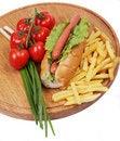 Free Hot Dog Stock Photography - 5295742