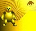 Free Yellow Teddy Bear Royalty Free Stock Photo - 5297615