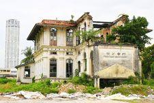 Free School Ruin Royalty Free Stock Photos - 5290118
