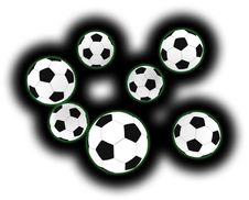 Free Soccer Balls Stock Photography - 5290862