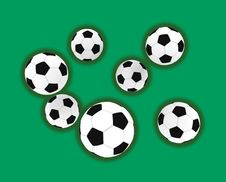 Free Soccer Balls Royalty Free Stock Image - 5290866