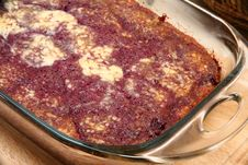 Free Dark Cherry Bread Pudding Royalty Free Stock Images - 5290879