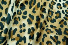 Free Leopard Pattern Silk Royalty Free Stock Images - 5291109