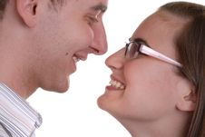 Free Attractive Affectionate Young Couple Stock Images - 5291114