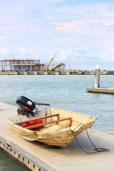 Docking Boat Stock Images