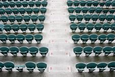 Free Empty Seating At Sports Stadium Royalty Free Stock Image - 5291786