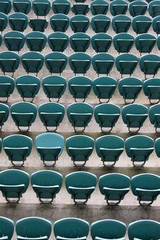 Free Empty Seating At Sports Stadium Royalty Free Stock Image - 5291796