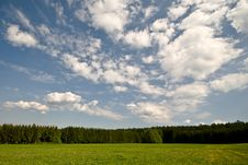 Free Landscape And Sky. Stock Image - 5292331