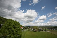 Free Sky Over Swiss Land Royalty Free Stock Image - 5292336