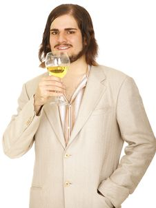 Free Handsome Young Man Ready To Party Stock Photography - 5294312