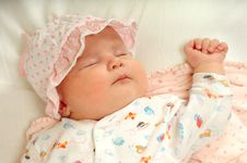 Free Little Baby Sleeping Stock Images - 5294354
