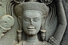Free Cambodia Angkor Wat: Bas Reliefs Royalty Free Stock Photography - 5294807