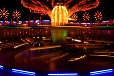 Free Carousel In The Motion Stock Photo - 5295220