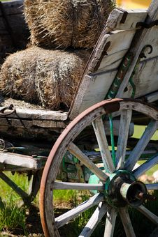 Free Wooden Cart Stock Images - 5295224