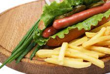 Free Hot Dog Stock Photo - 5295360