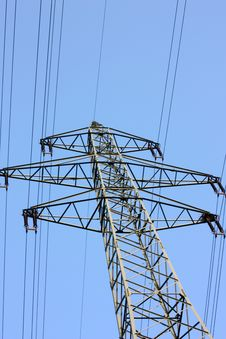 Free High Voltage Power Line Stock Photography - 5295502