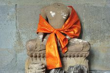 Free Cambodia; Angkor Wat: Seated Buddha Royalty Free Stock Photography - 5295547