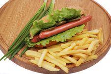 Hot Dog Royalty Free Stock Photos