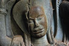 Free Cambodia Angkor Wat: Bas Reliefs Stock Photos - 5296063