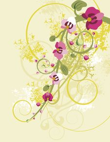 Free Floral Background Series Stock Photos - 5297043