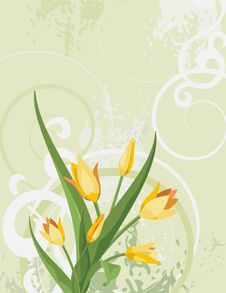 Free Floral Background Series Stock Images - 5297064