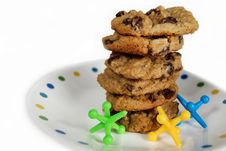 Free Cookie Stack Stock Image - 5297341