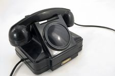 Free Old Phone. Royalty Free Stock Photo - 5297685