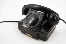 Free Old Phone. Stock Image - 5297691