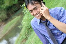 Free Calling In Nature Stock Photography - 5297702