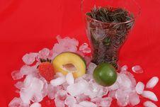 Free Mango And Ice Stock Photos - 5297903