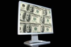 Free Monitor LCD Stock Image - 5298061