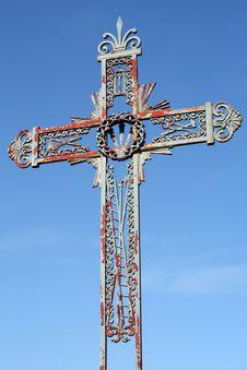 Free Old Iron Cross Stock Image - 5298151