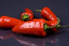 Free Red Peppers Royalty Free Stock Photography - 5298247