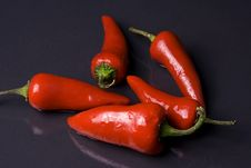 Free Red Peppers Royalty Free Stock Photos - 5298288