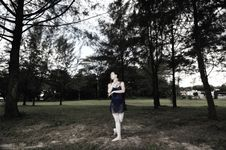 Free Outdoor Ballet Royalty Free Stock Photography - 5299037