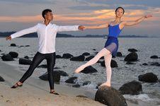 Free Outdoor Ballet Stock Image - 5299161