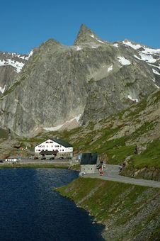 Free Grand Saint-Bernard Pass Stock Photography - 5299362