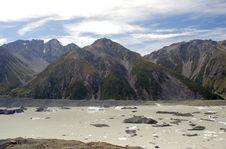 Free Tasman Glacier Lake Stock Image - 5299681