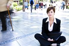 Free Businesswoman Portrait Royalty Free Stock Images - 5299749