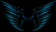 Free Fractal Wings Stock Photography - 5299982